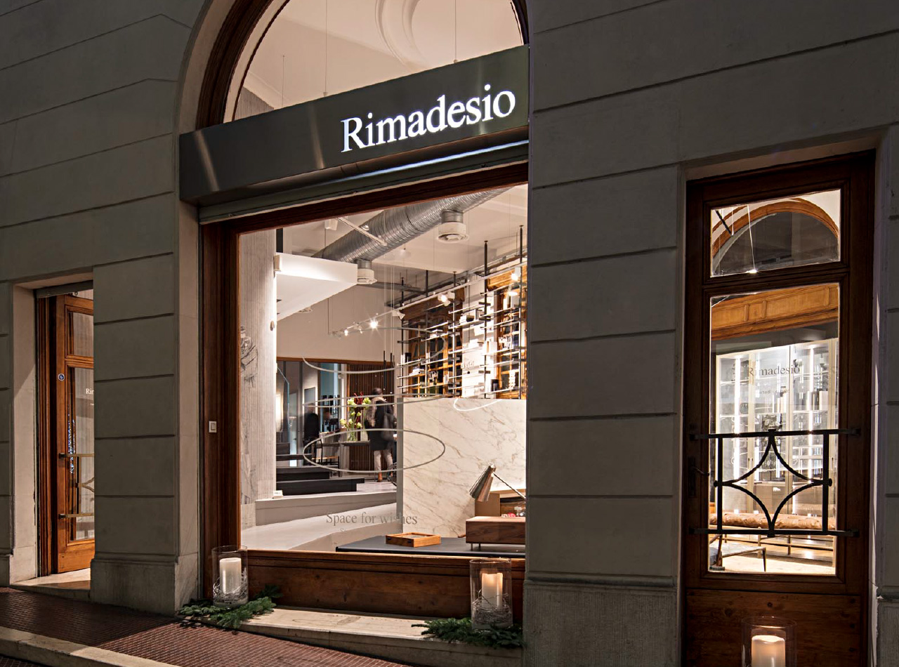 Showroom Rimadesio a Brescia